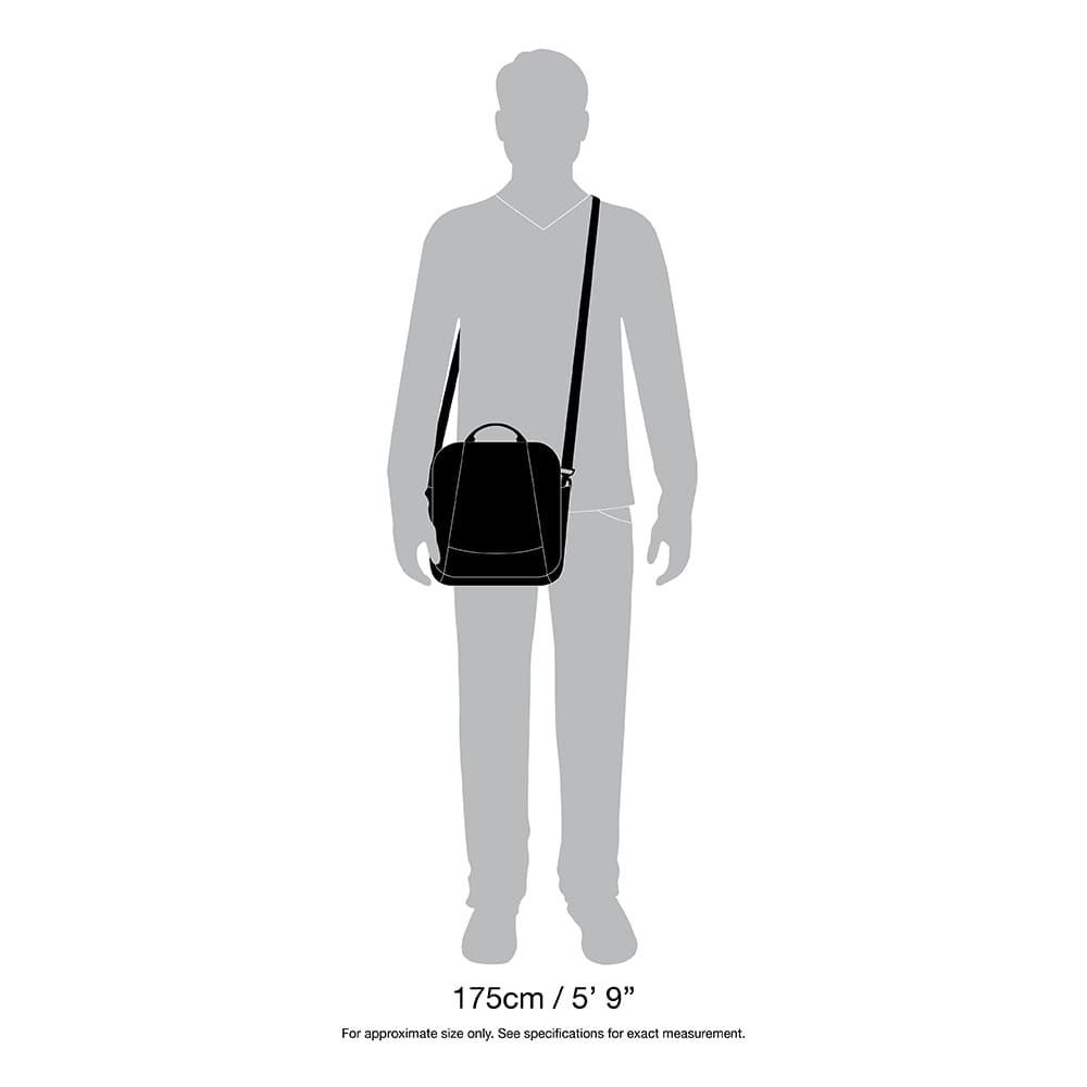 Системы защиты сумки через плечо Pacsafe Metrosafe LS 200